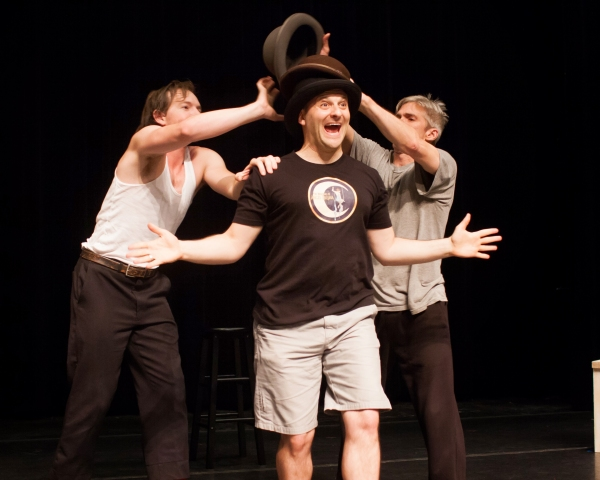 Matt Wilson, Michael Thomas Holmes and Matthew Baker Photo