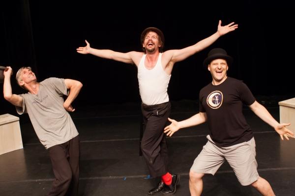 Matthew Baker, Matt Wilson and Michael Thomas Holmes Photo