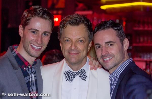 Daniel Rowan, Jim Caruso and Max von Essen