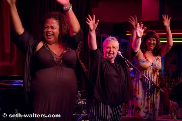 Natalie Douglas, Christine Lavin and Janet Fanale Photo