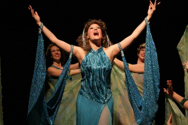 Amy Coles as The Lady of the Lake  Photo