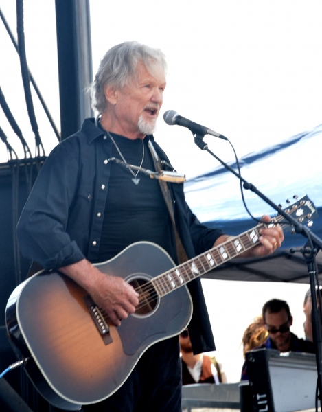 Kris Kristofferson at Willie Nelson's Picnic. Credit: Marco Airaghi