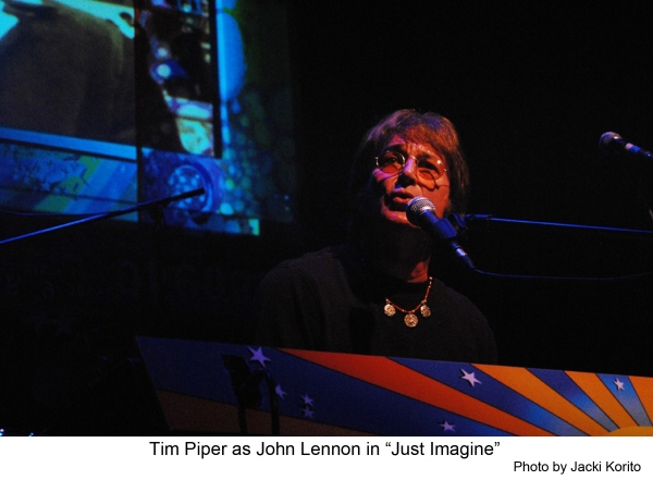 BWW Reviews: Tim Piper Channels John Lennon in JUST IMAGINE at the Hayworth Theatre