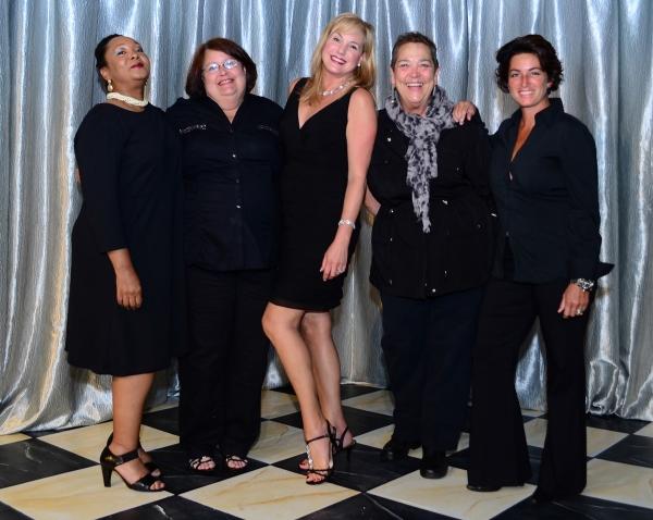 Milicent Wright , Lori Raffel, Cindy Phillips, Gayle Steigerwald and Sara Reimen