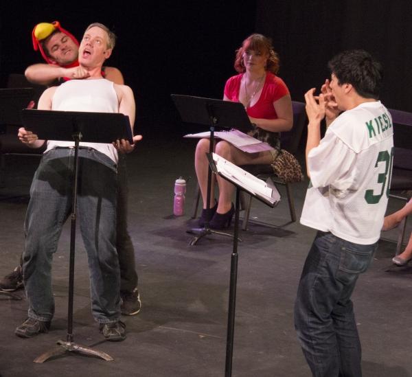 Jeff Orton, Greg Allen, Lindsey Larson and Michael Feldman Photo