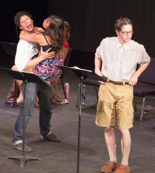 Michael Feldman, Diana Huey and Mike Spee Photo