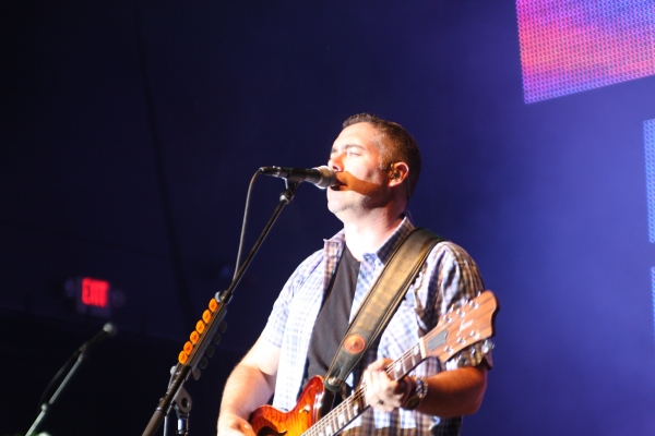 Photo by Steve DeWeese. Ed Robertson of the Barenaked Ladies adjusted to the role of being the band''s sole front man.