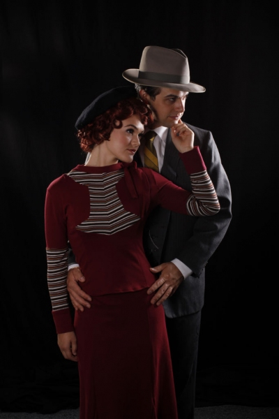 Photo Flash: First Look at Michael Schluter and Noelle Pedersen in BONNIE AND CLYDE