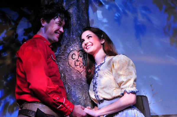 Joshua Dixon and Samantha Bruce