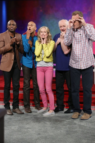 Wayne Brady, Keegan Michael Key, Candice Accola, Ryan Stiles