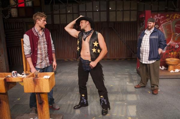 Ainsley Emrys as Jerry Lukowski, Jeff Brooks as Keno Walsh and Jason Sofge as Dave Bukatinsky