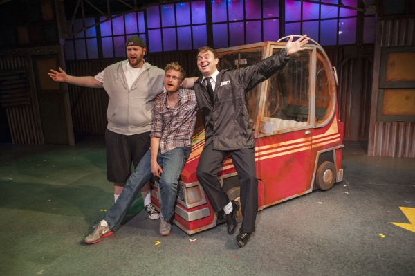 Photo Flash: First Look at Jason Sofge, Ainsely Emrys and More in CRT's THE FULL MONTY
