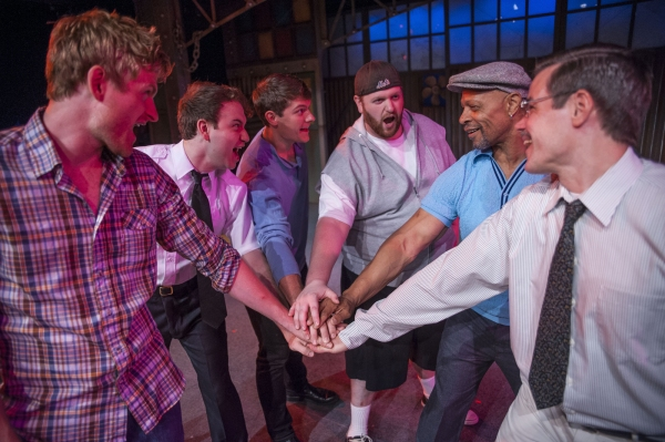 Ainsley Emrys as Jerry Lukowski, Ryan Halsaver as Malcolm MacGregor, Garrett Keller a Photo