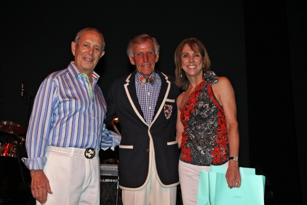 Visionary Award Winners Neal & Cynthia Hochman with Chairman of the Board Tom Poole (center)