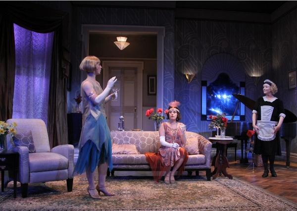 Julie Jesneck as Julia, Melissa Miller as Jane, and Allison Mackie as Saunders.