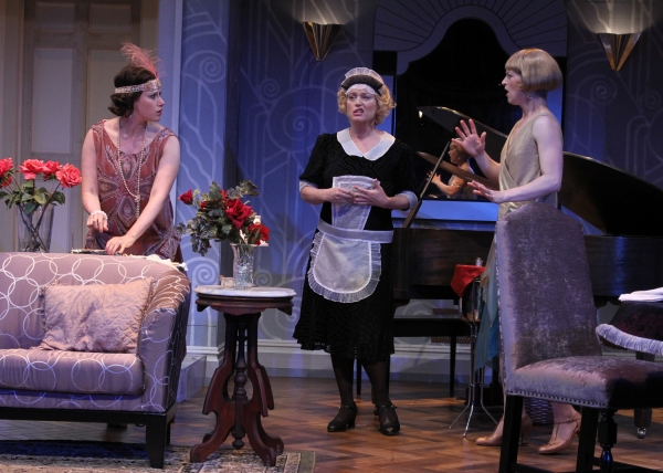 Melissa Miller as Jane, Allison Mackie as Saunders, and Julie Jesneck as Julia.