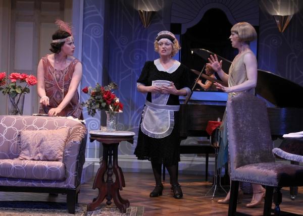 Melissa Miller as Jane, Allison Mackie as Saunders, and Julie Jesneck as Julia.