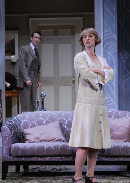Julie Jesneck as Julia reveals a secret to Willy Banbury