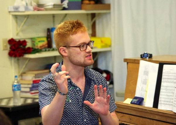 Music Director Ryan Fielding Garrett  Photo