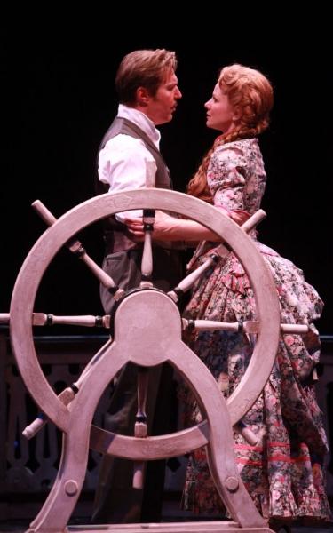 Ron Bohmer (Ravenal) and Jennifer Hope Wills (Magnolia)