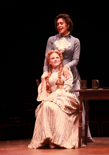 Nikki Crawford (Julie) and Jennifer Hope Wills (Magnolia)