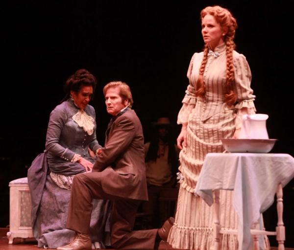 Nikki Crawford (Julie), Gordon Goodman (Steve) and Jennifer Hope Wills (Magnolia)