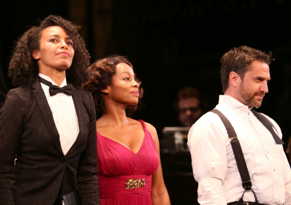 Eisa Davis, Anika Noni Rose and Raul Esparza