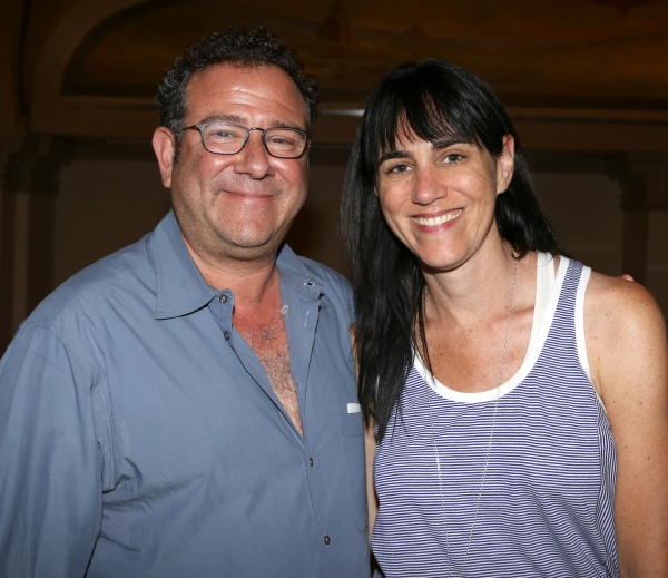 Michael Greif and Leigh Silverman