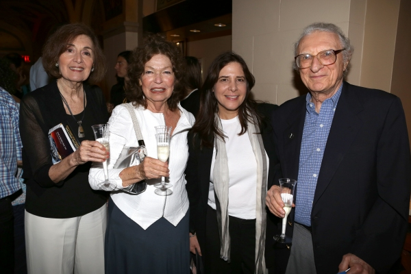 Nancy Ford, Gretchen Cryer, Dori Bernstein and Sheldon Harnick