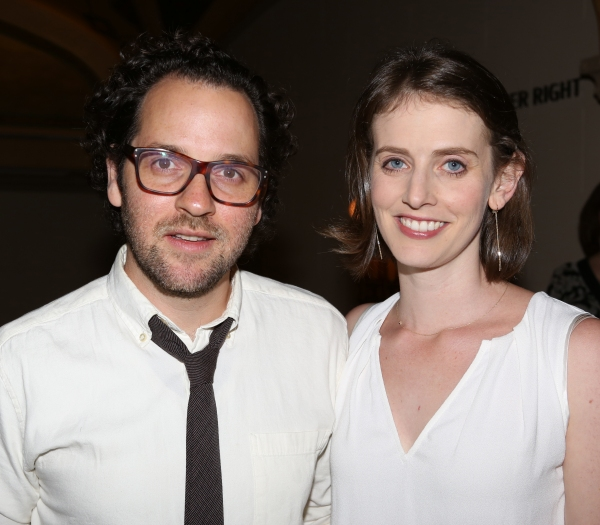 Sam Gold and wife Amy Herzog Photo