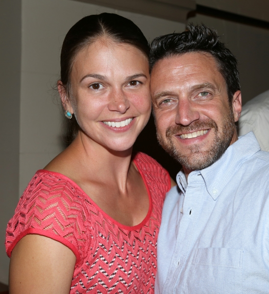Sutton Foster and Raul Esparza