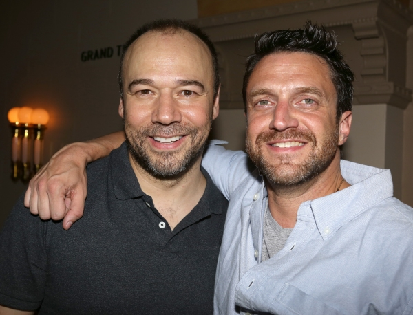 Danny Burstein and Raul Esparza