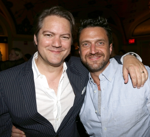 Robert Petkoff and Raul Esparza