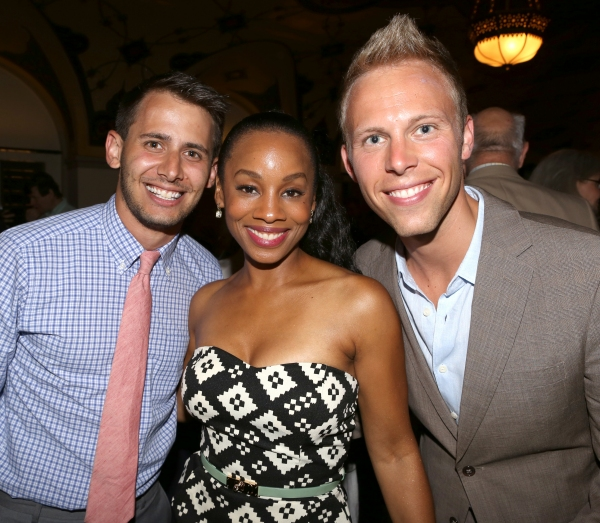 Benj Pasek, Anika Noni Rose and Justin Paul