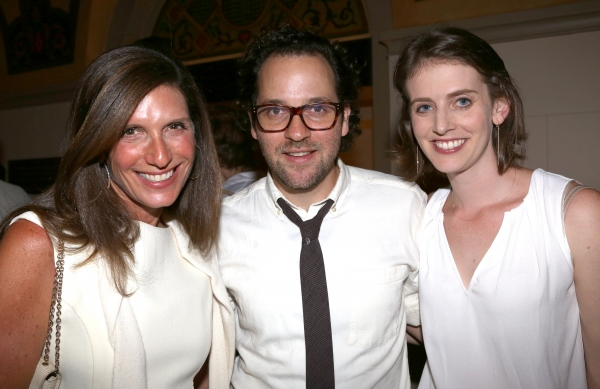 Stacey Mindich, Sam Gold and wife Amy Herzog