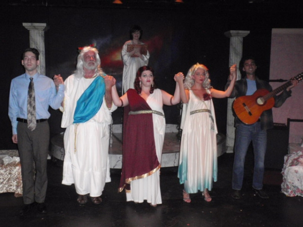 Photo Flash: First Look - THANK YOU, MINERVA, Opening Tomorrow at Secret Rose Theatre