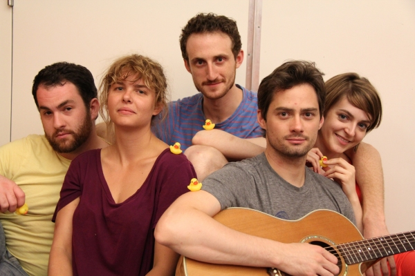 The cast of Rubber Ducks and Sunsets