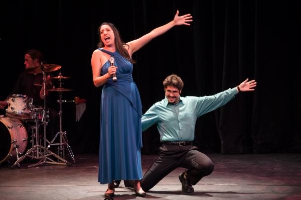 Eleni Delopoulos and Ehren Remal Photo