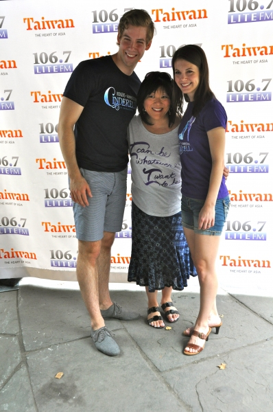 Andy Jones, Ann Harada and Heidi Giberson