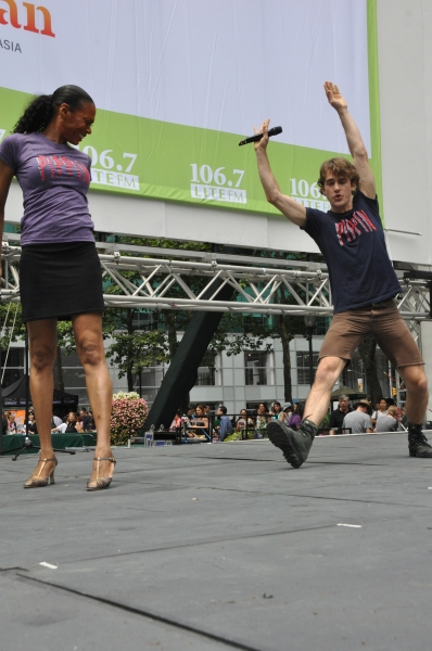 Photo Coverage: Casts of PIPPIN, CINDERELLA & More Perform at First Broadway in Bryant Park of 2013!