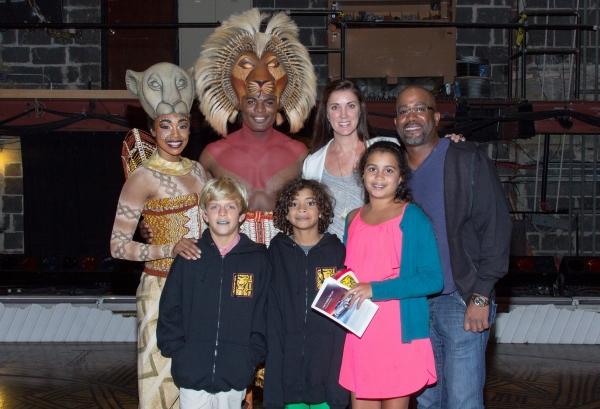 Chantal Riley, Andile Gumbi, Darius Rucker and family Photo