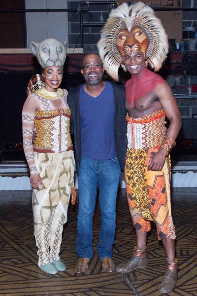 Chantal Riley, Darius Rucker, Andile Gumbi Photo