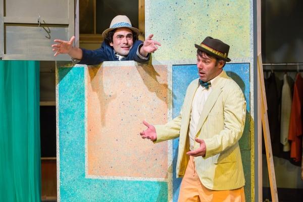 Peter Platt (Lucentio) and Grant Turner (Gremio) Photo