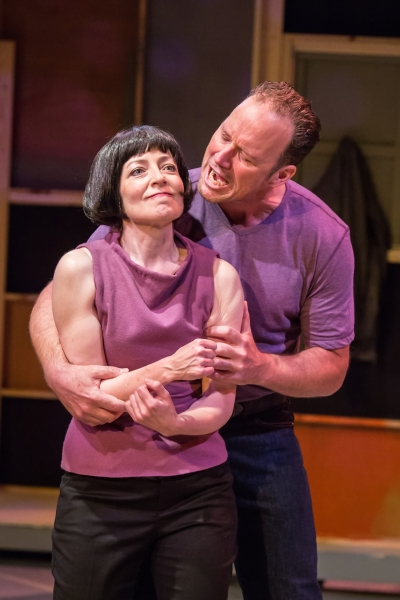 Maureen Porter (Kate) & James Farmer (Petruchio)