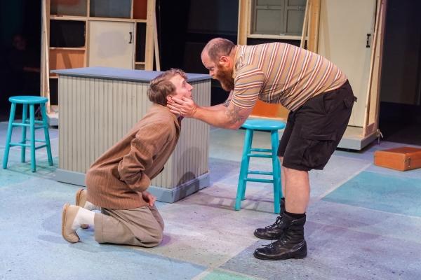 Nikolas Hoback (Grumio) & Rusty Tennant (Curtis)