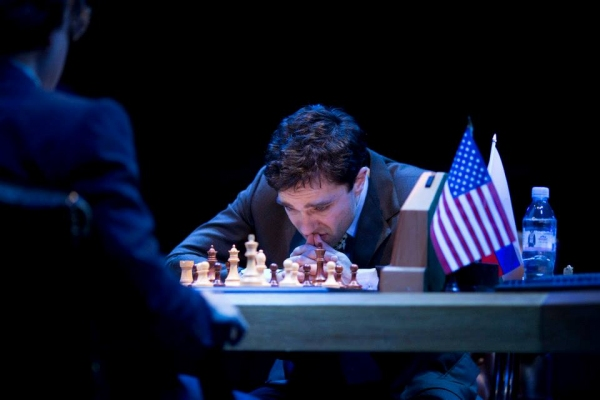 Hadley Fraser as Garry Kasparov