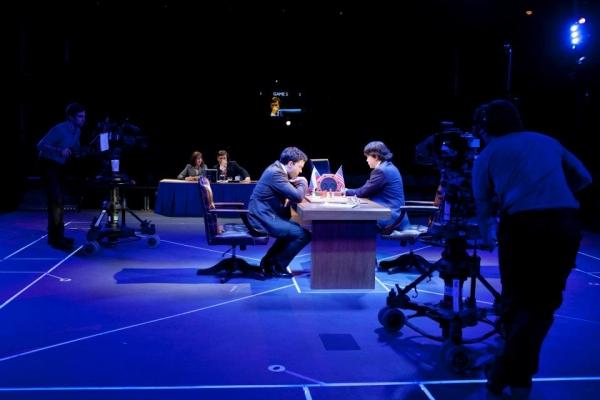 Hadley Fraser as Garry Kasparov and Kenneth Lee as Feng-Hsiung Hsu