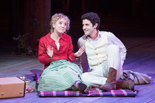 Winslow Corbett as Hermia and Adam Gerber as Lysander