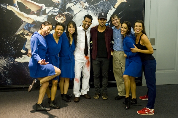 Taylor Lautner & cast