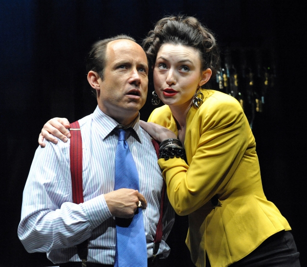 Alex Draper as Billy Corman and Isabel Shill as Dolcie Starr